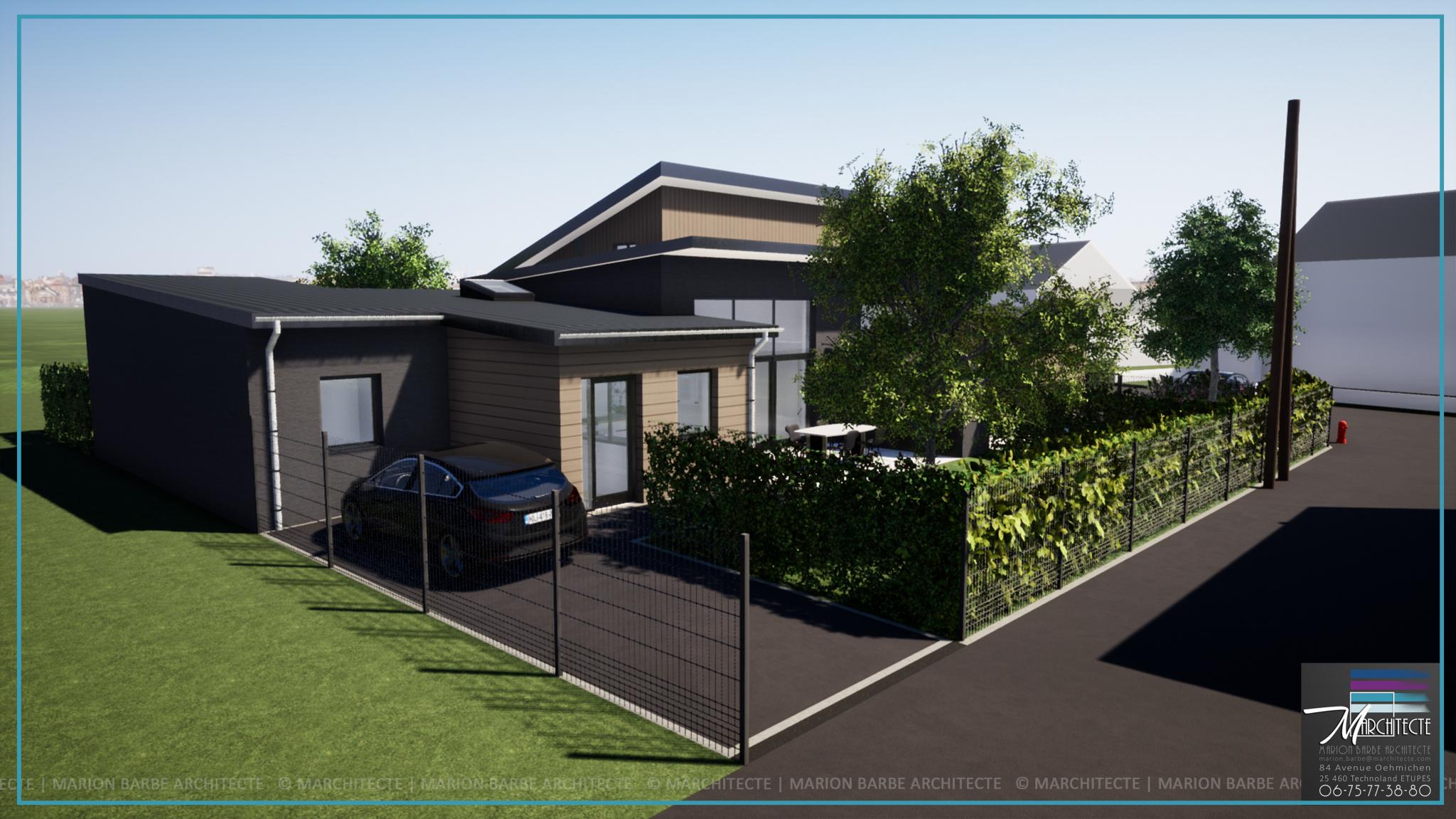 vente Maison neuve de plain pied - 85 m2 - 2 chambres